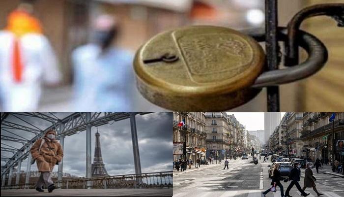 France announces lockdown