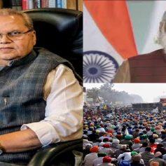Satyapal malik supported agitating farmers