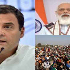 Rahul gandhi tweets on farmers