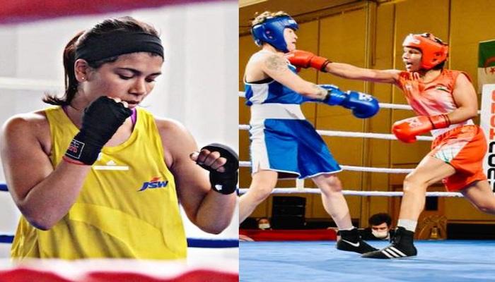 Nikhat zareen defeated