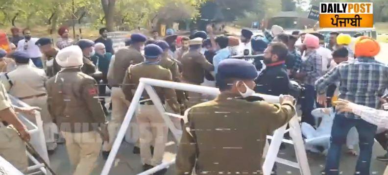 Akali dal mlas protest
