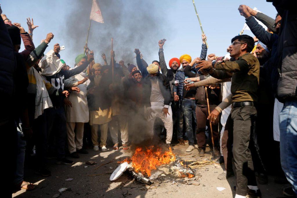 bjp leader farmers were preparing burn