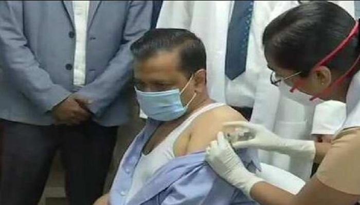 Kejriwal corona vaccine