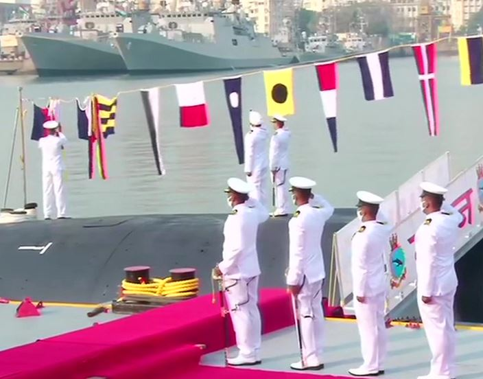 Scorpene class Submarine INS Karanj