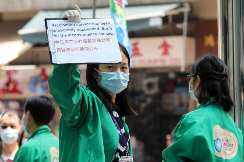 Hong Kong Halts Pfizer