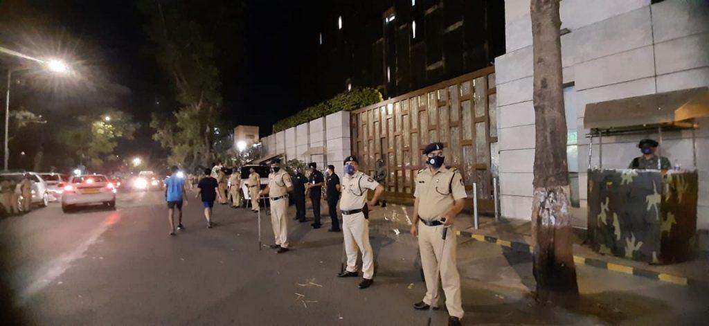 after bomb scare outside mukesh ambani