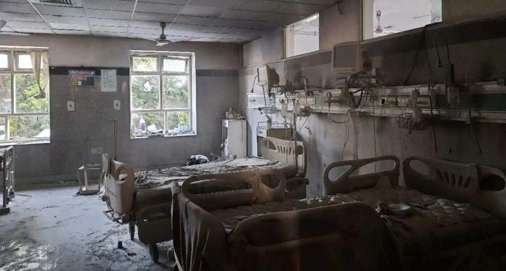 Delhi safdarganj hospital fire
