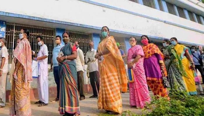 Westbengal sixth phase polling