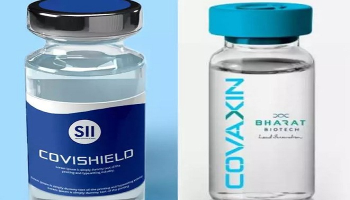 Covaxin and covishield vaccine