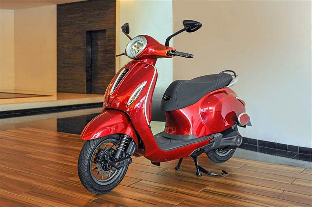 bajaj electric chetak scooter