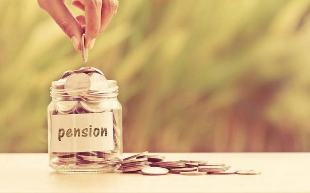 Government employees get all pension