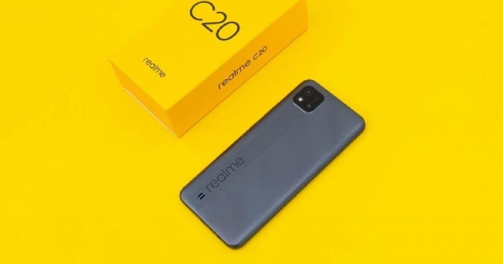 Realme C20 first sale today