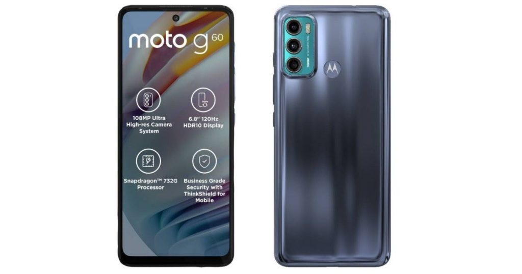 first sale of Moto G60 smartphone