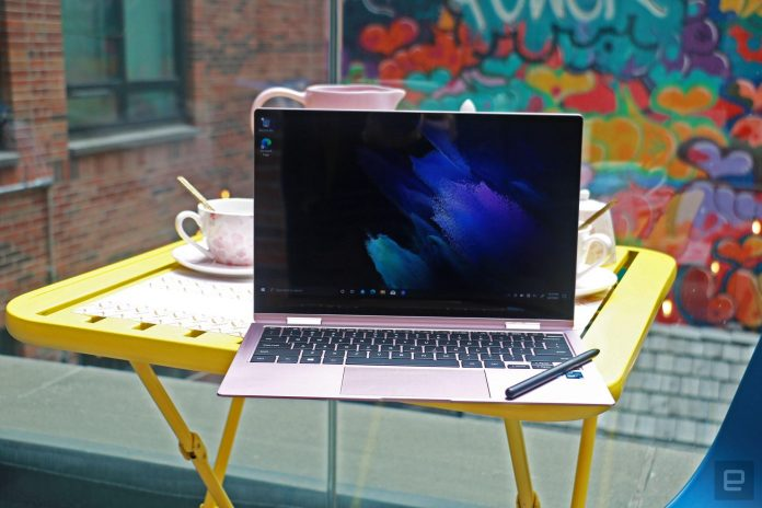 Galaxy Book Pro 360 launches