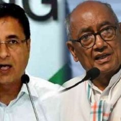 Digvijaya singh tests positive