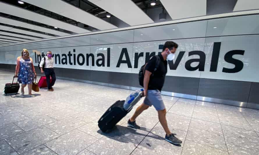 UK adds India to travel