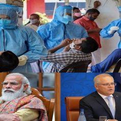 Australia banned travel to india