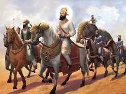 fights off shri guru gobind singh ji