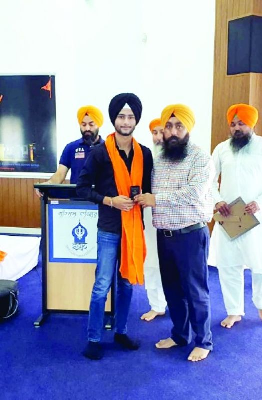 16 year old sikh youth enlisted