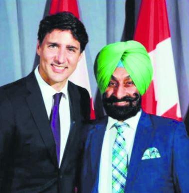Canadian businessman Bakshish Sidhu