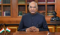 President ramnath kovind returns home