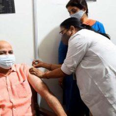 Manish sisodia corona vaccination