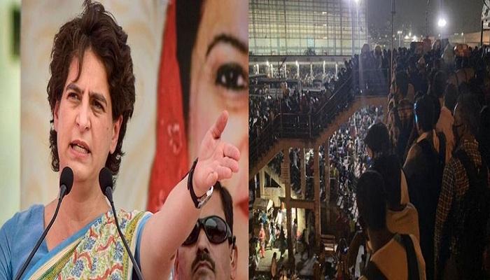 Delhi lockdown priyanka gandhi slams