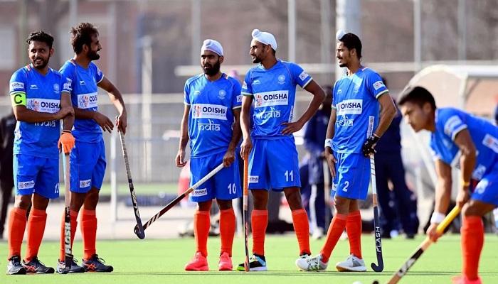 Indian hockey team beat argentina