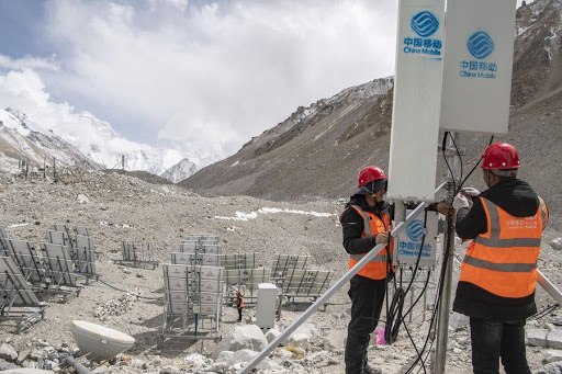 China opens 5G station