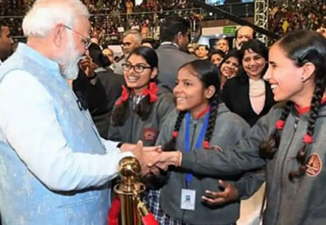 PM Modi to interact with students