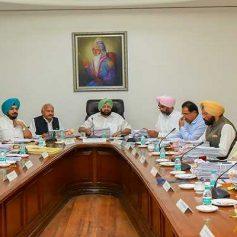 Meeting Of Punjab Cabinet