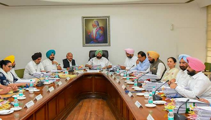 Meeting Of Punjab Cabinet