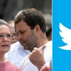 Congress writes to twitter