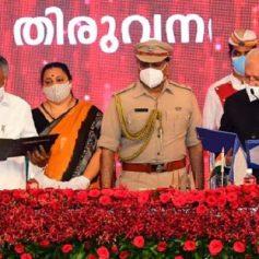 Pinarayi vijayan takes oath