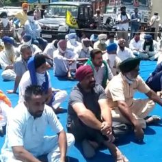 Farmers close Nawanshahr Jalandhar highway