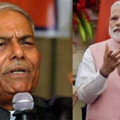 Yashwant sinha attacks on pm modi
