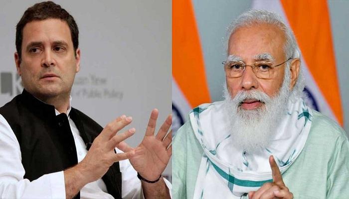 Rahul gandhi says pm modi ego