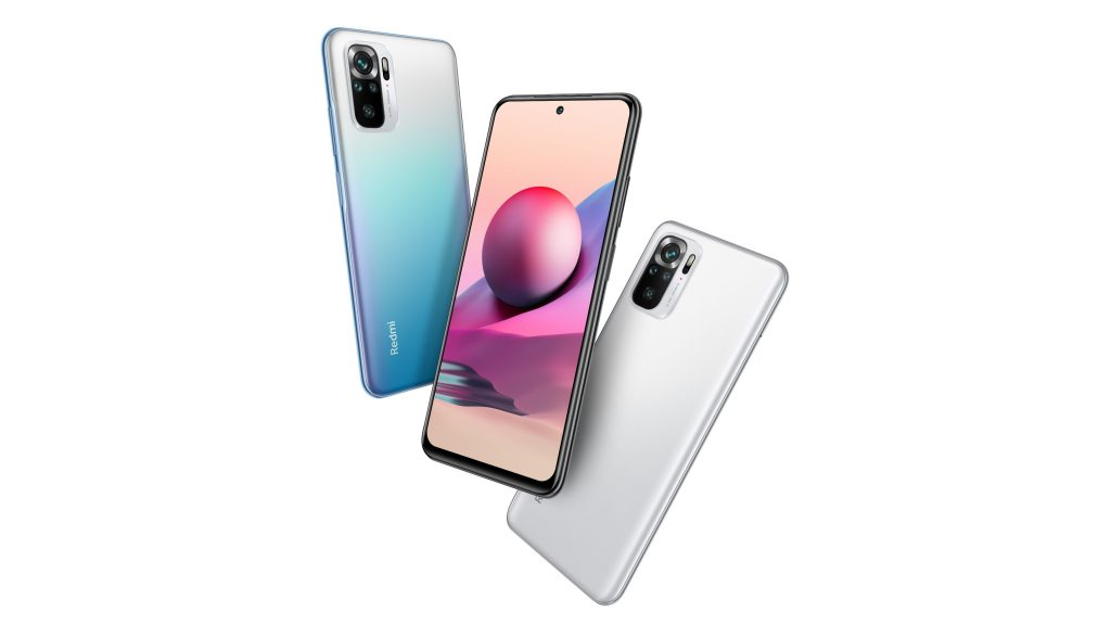 Listing of Redmi Note 10S