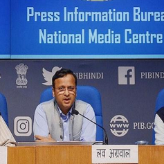 Health ministry press confrence