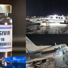 Crash landed at gwalior airport