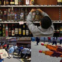 Liquor shops lockdown