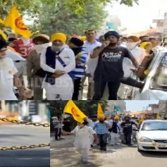 Farmers protest against lockdown