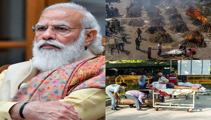 International media on corna crisis in india