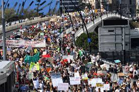 Climate strike rallies across Australia