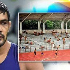 Chhatrasal stadium wrestler faction collision