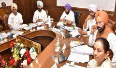 Punjab cabinet meeting time change