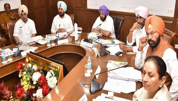 Punjab cabinet meeting time change