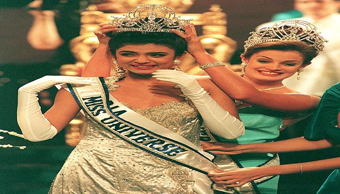 sushmita sen celebrated 27th miss universe