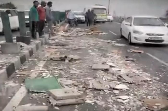 About a dozen people were injured