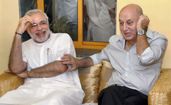 anupam kher criticise modi government